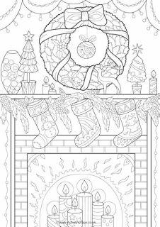 chrismas coloring pages # 59
