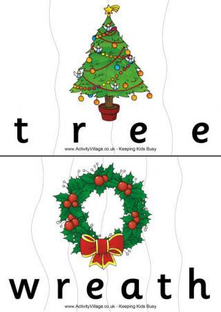 Christmas Wreath Printables