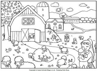 spring colouring pages for kids
