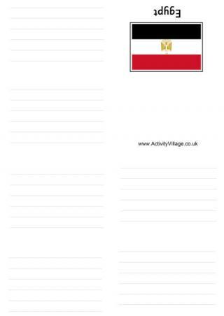 egypt flag printables