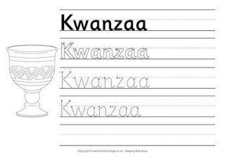 kwanzaa printables for kids