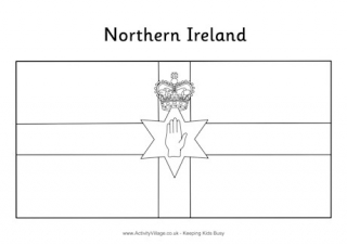 northern ireland flag printables