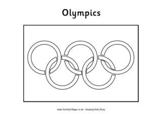 olympic flag colouring page here s a printable olympic flag