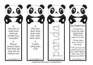 panda printables