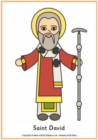 Saint David Poster