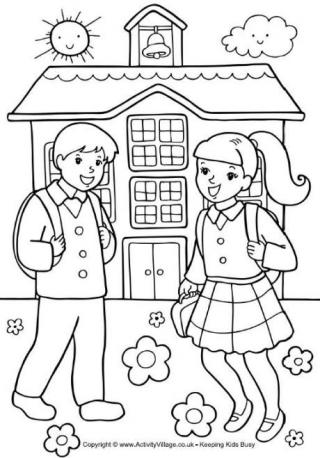 school coloring pages coloring pages for kids