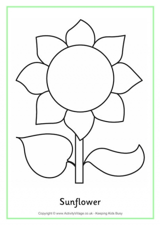 sunflower colouring page 2 this sunflower colouring page is aimed at