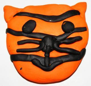 Tiger Face Magnet