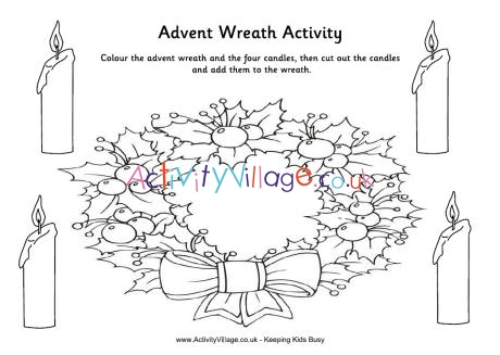 wreath template for kids # 16