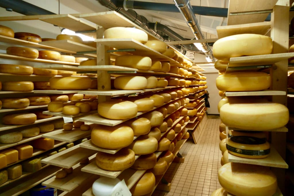 Dutch cheese storage
