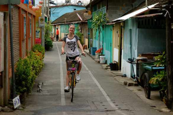Bangkok by bike