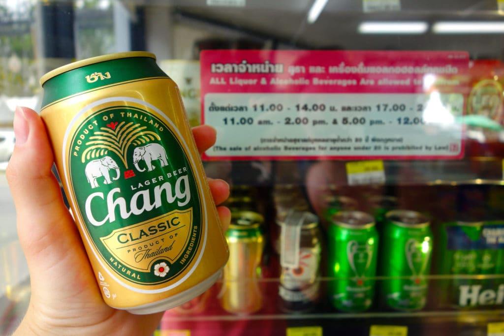 Chang beer 7-Eleven