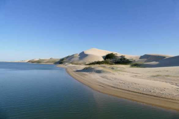 Sand sliding South Africa