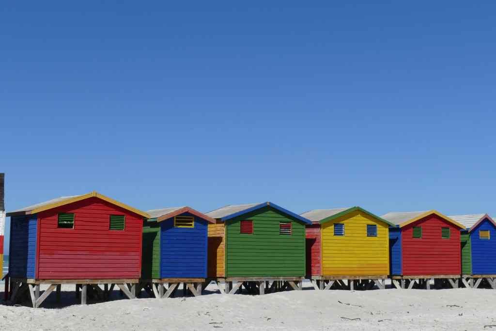 Muizenberg cabins