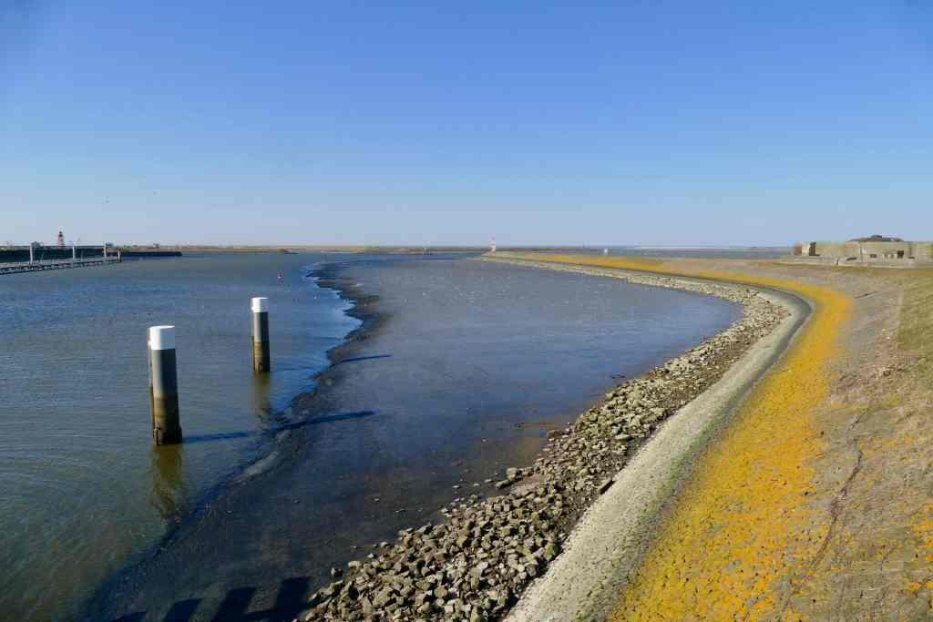 IJsselmeer Afsluitdijk Netherlands