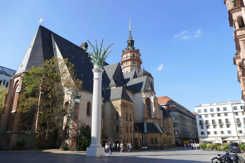 Nicolas church Leipzig