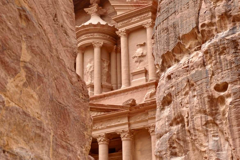 Petra Treasury facade