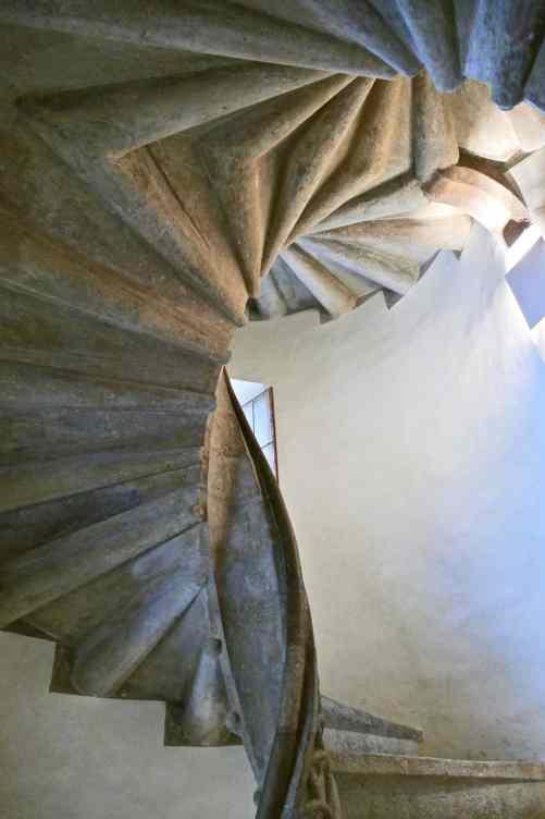 Graz double spiral stairway