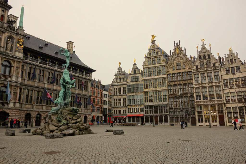 Main square Antwerp
