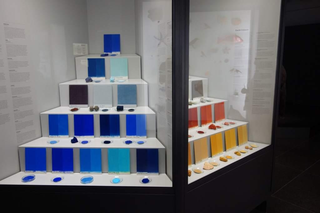 Colors in museum Wiesbaden