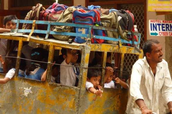 school kids india