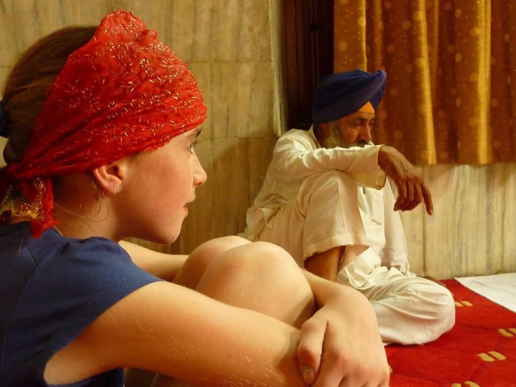 India travel kids