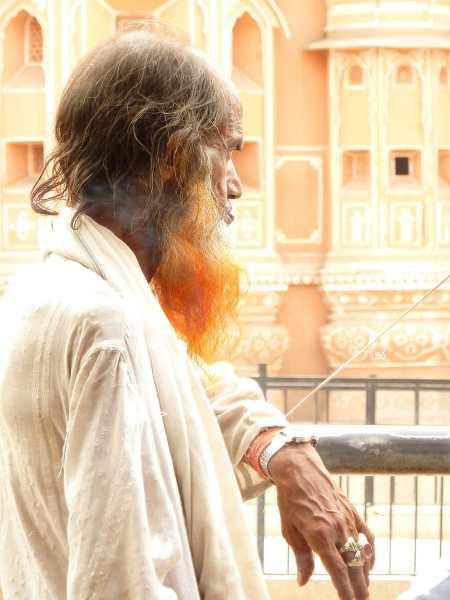 Man in Jaipur India