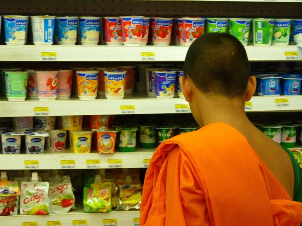 Monk in 7-Eleven