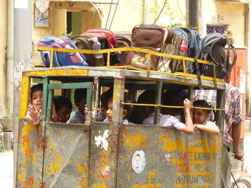 Schoolkids transport
