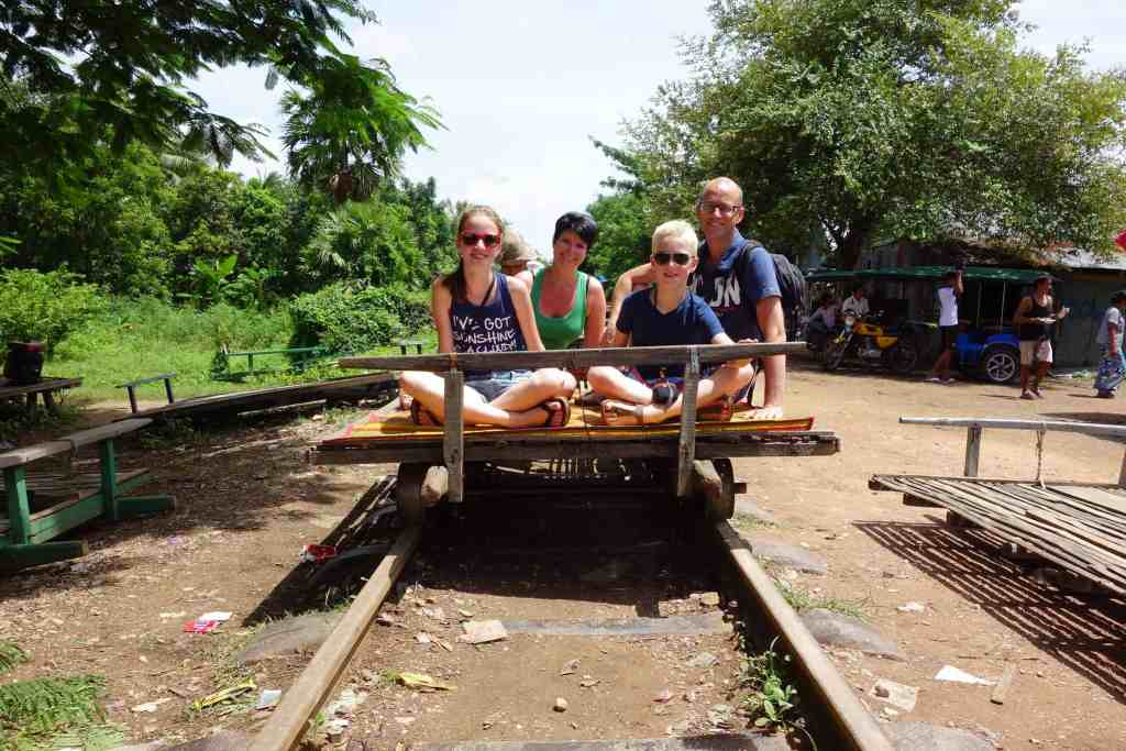 Family travel Cambodia