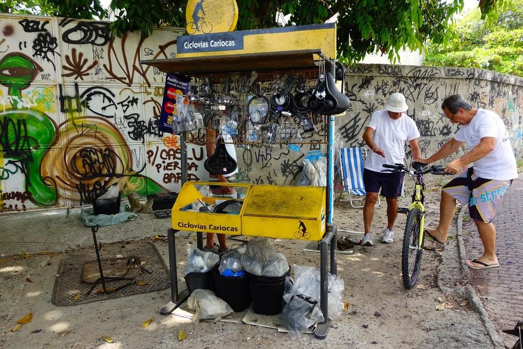 Bicycle repair shop Rio