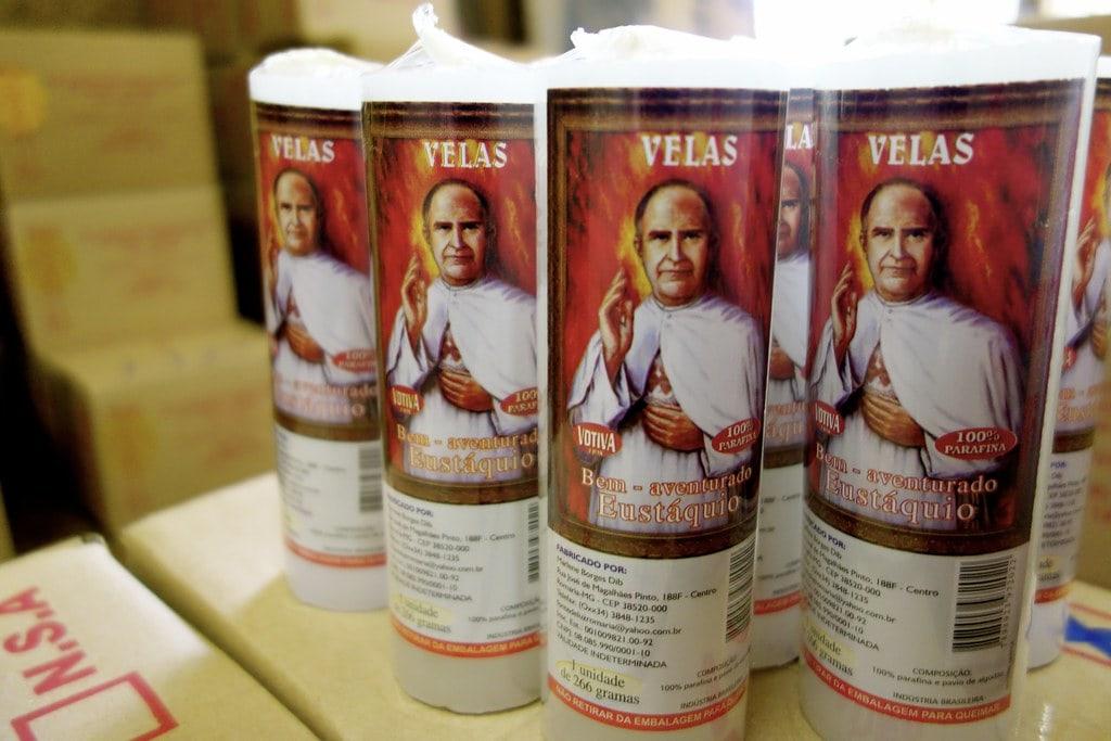 Padre Eustaquio candles