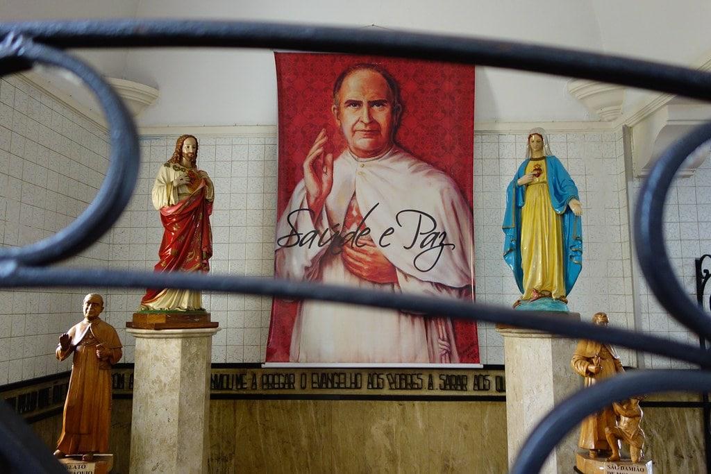 Former tomb Padre Eustaquio