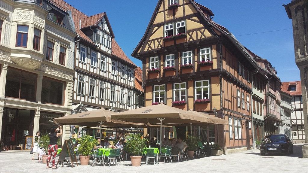 Cafe Harz region Quedlinburg