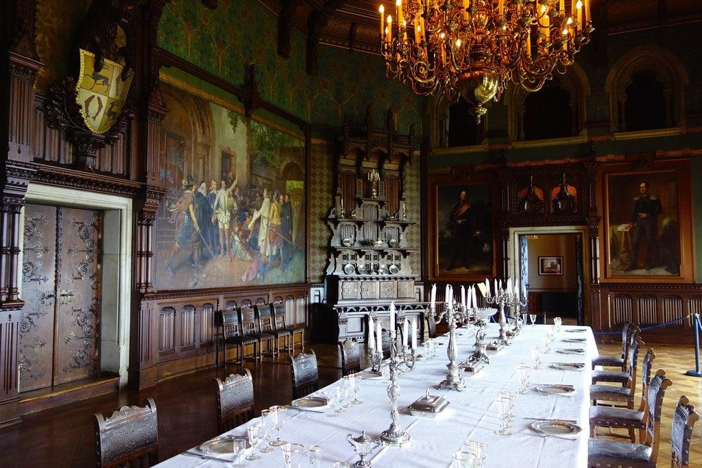 Interior Wernigerode castle