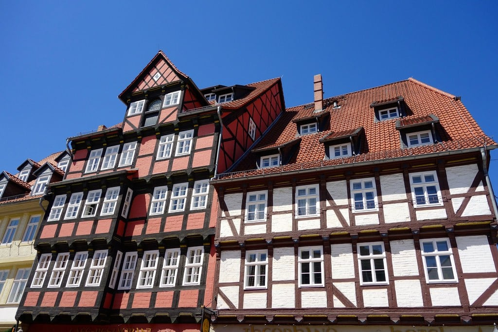 Houses in Quedlinburg