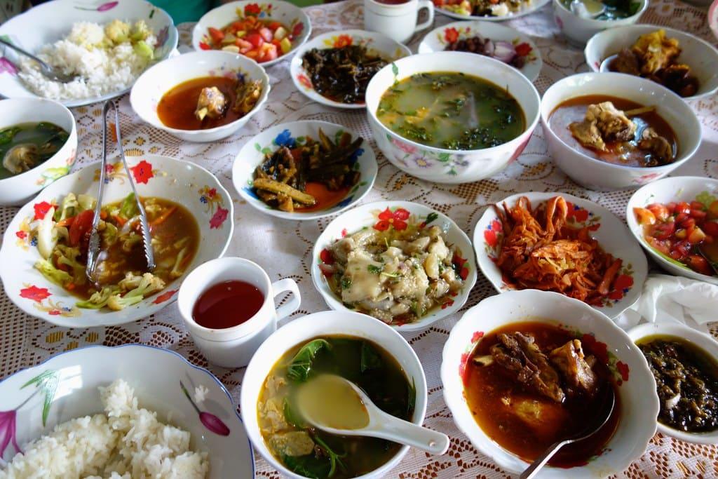 Birmese lunch