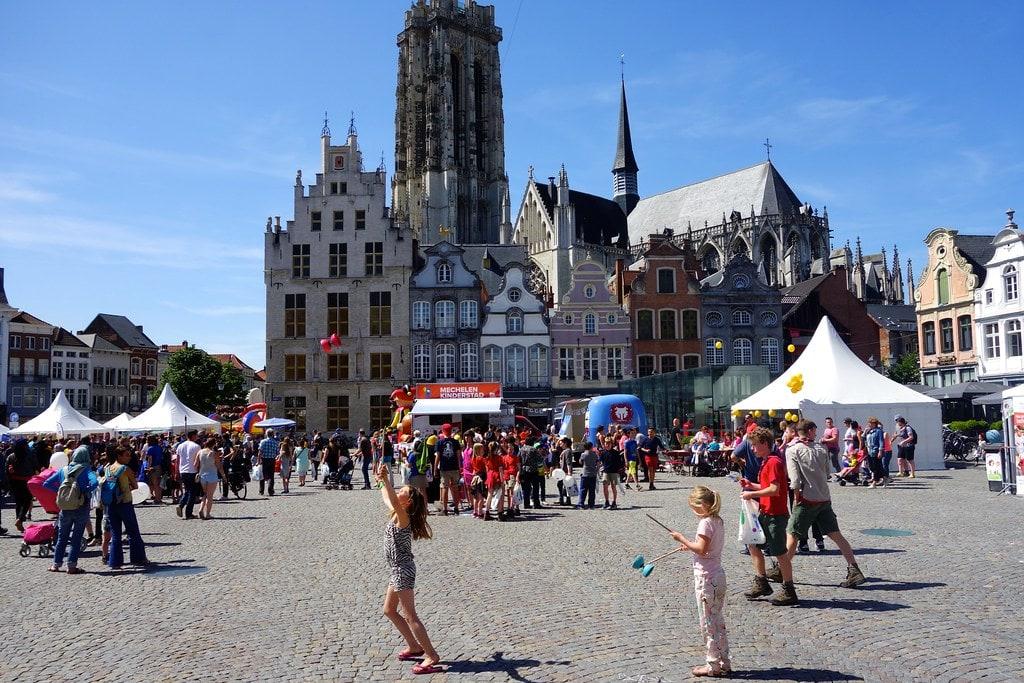 Main square Mechelen