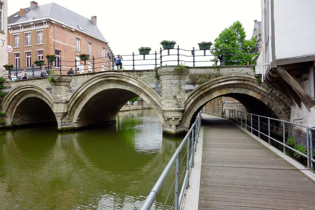 River walkway Mechelen