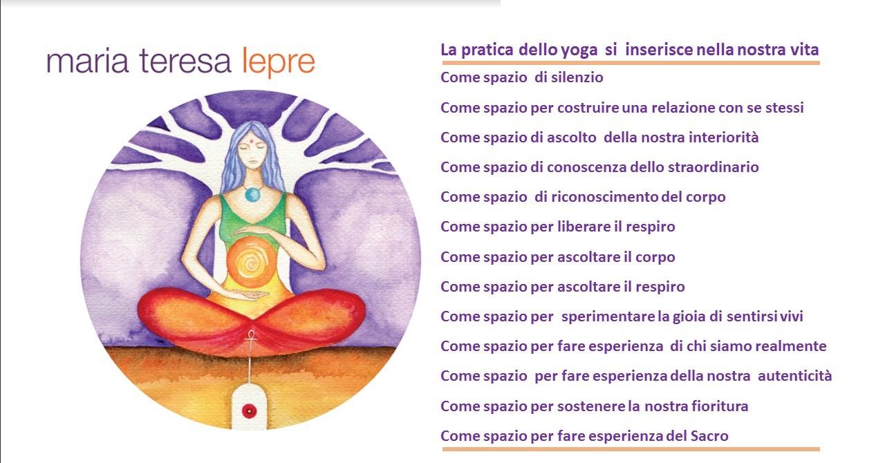 Yoga con M. T. Lepre
