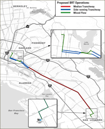 Proposed BRT Operations Map