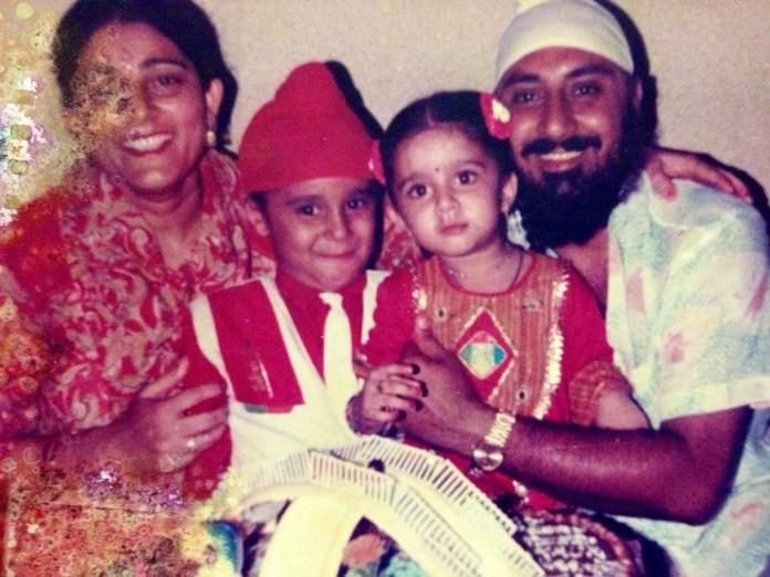 charmy kaur childhood photos