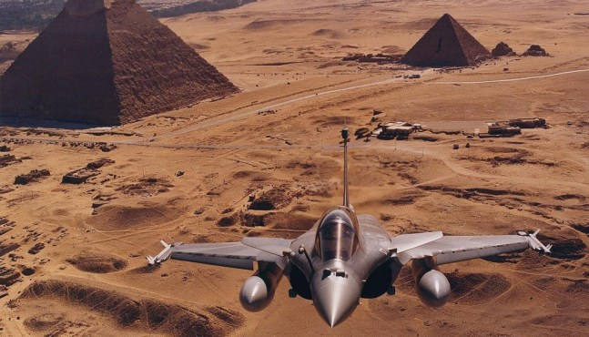 Le Rafale s'envole vers l'Egypte