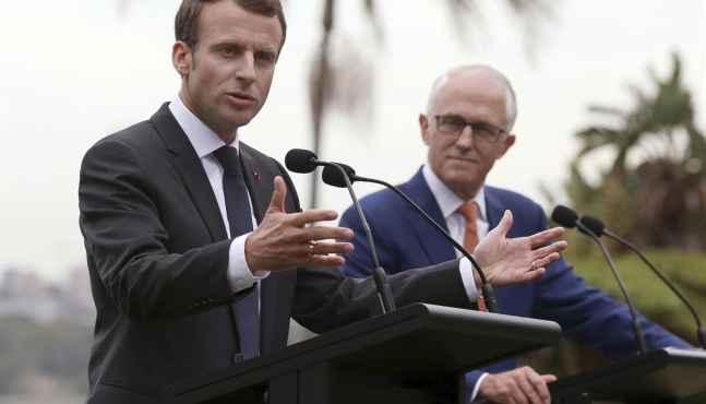 Un nouvel axe stratégique franco-australien pour mieux concurrence la Chine sur son territoire