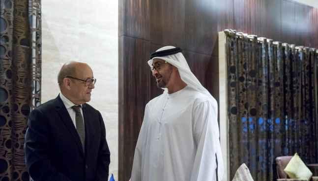 Jean-Yves Le Drian à Doha dans le cadre des échanges bilatéraux avec le Qatar