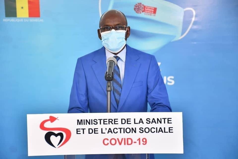 Covid-19 : Le Sénégal enregistre 12 décès et 288 nouvelles infections en 24 heures