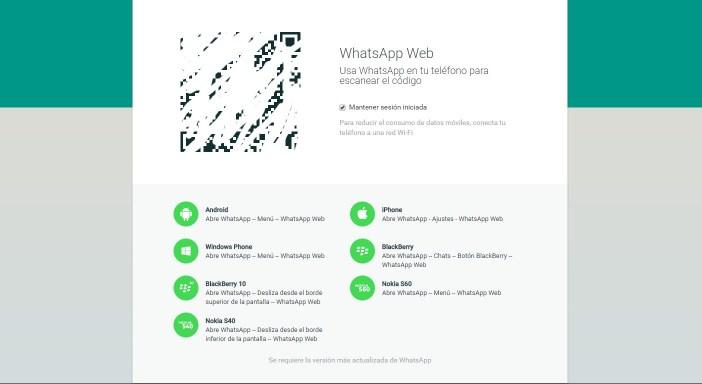 WhatsApp Web ordenador portal - copia