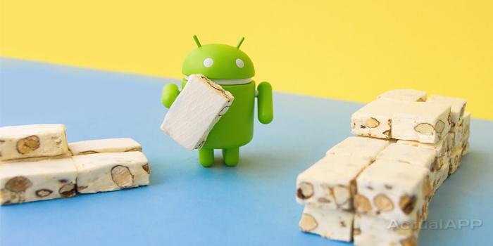 Android 7 Nougat actualapp portada