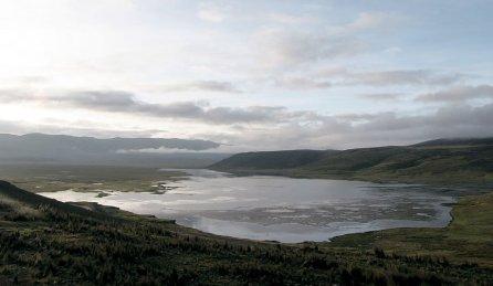 La cuenca glaciar más importante es la del río Santa, que nace en las lagunas Conococha y Aguashcocha, que se extiende desde el nivel del mar hasta las cumbres más altas por encima de 6000 msnm, y contribuye a la realización de dos grandes proyectos de irrigación Chavimochic (130, 553 hectáreas ) y Chinecas (44, 420 hectáreas).