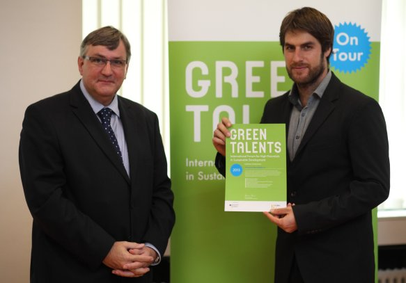 Preisverleihung 5. Green Talents Award
